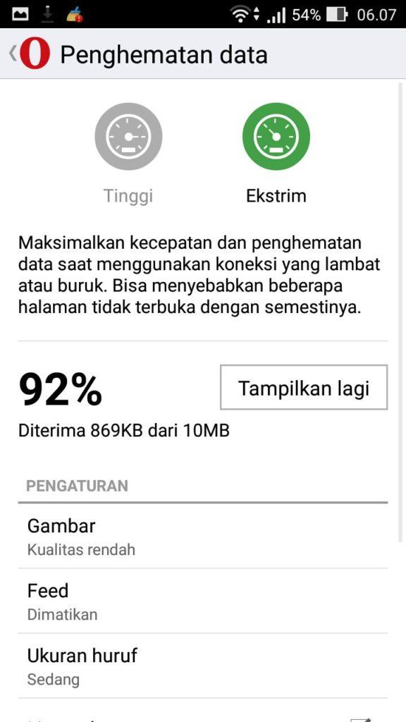 Akses Internet Super Cepat Dengan Opera Mini 02
