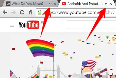 Membuka 2 website yang bersuara bersamaan di Google Chrome 46