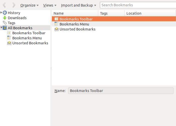 Mengakses Bookmark di Mozilla Firefox