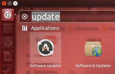 Cara menjalankan Software Updater di Ubuntu