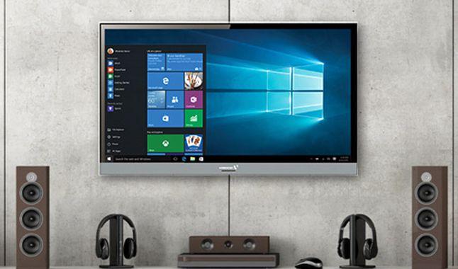 Windows 10 yang berjalan di TV