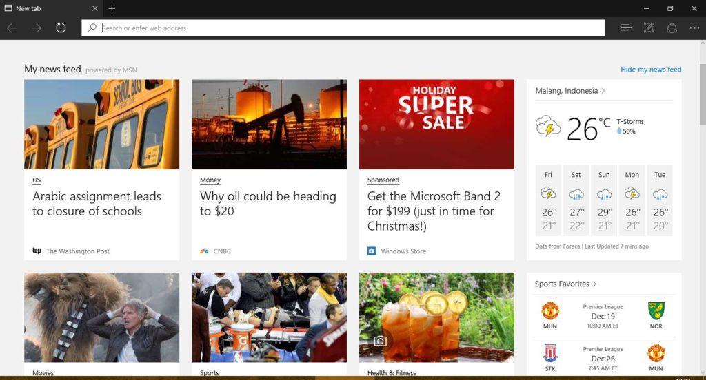 Berita Terbaru Di Microsoft Edge