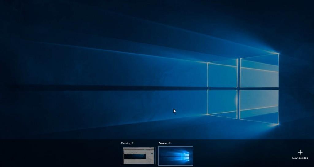 Desktop Baru Di Task View