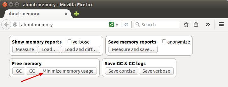 Cara membersihkan memori di Firefox