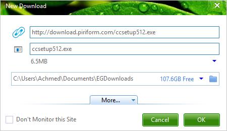 Mengunduh File Dengan Eagle Get