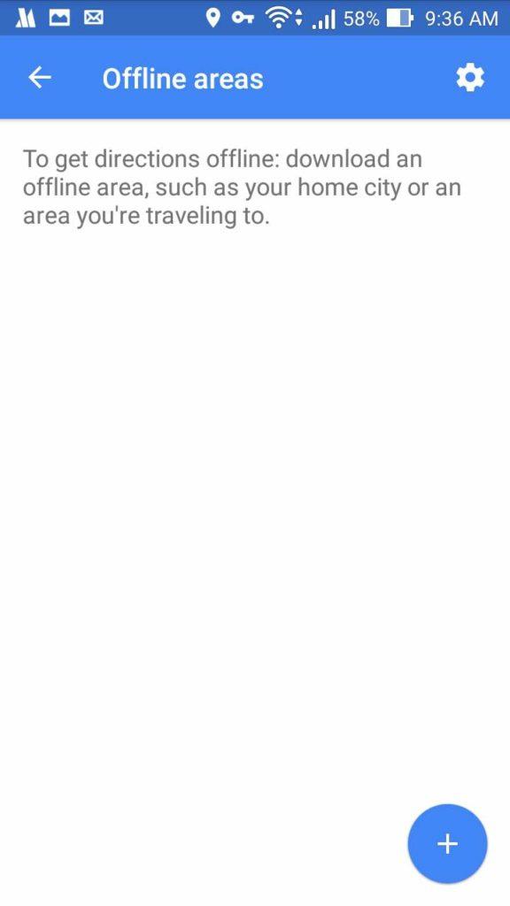 Cara Menambah Offline Area Di Google Maps