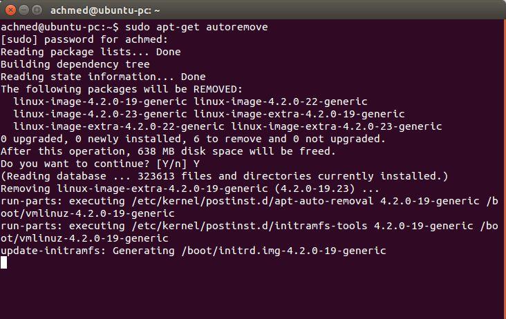 Autoremove Di Ubuntu