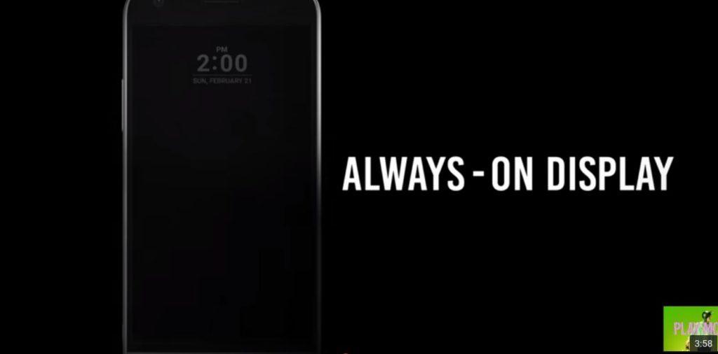 LG G5 Dengan Always On Display