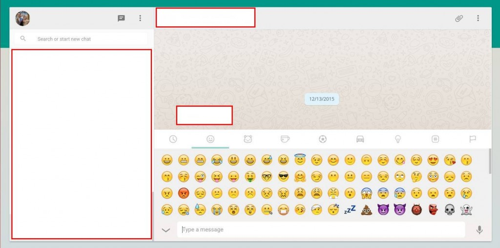 Chatting Di Whatsapp Web