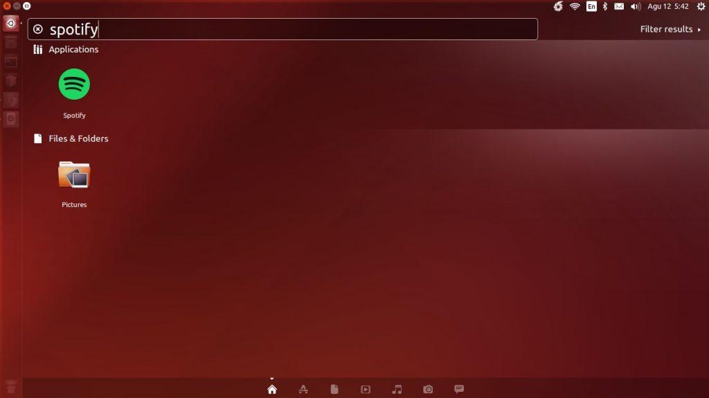 Dash Ubuntu