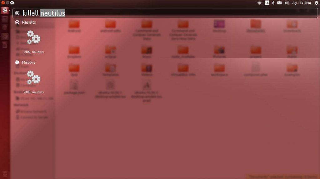 Memberikan Perintah Dengan Cepat Di Ubuntu