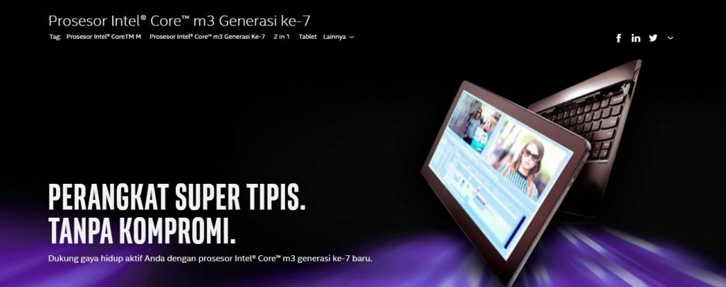 Intel Core M Generasi Ke 7
