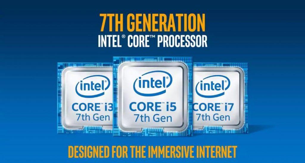 Prosesor Intel Core Generasi Ke 7 Kaby Lake