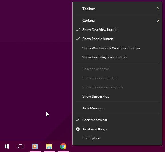Exit Explorer Windows 10