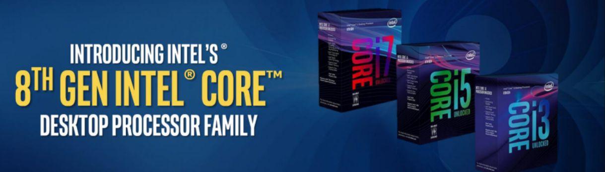 Prosesor Intel Generasi Ke-8 Header