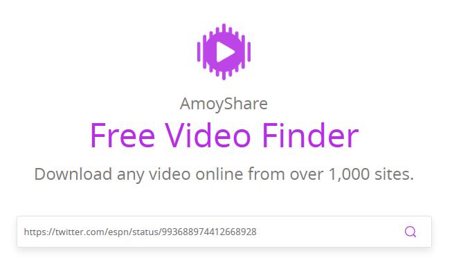 Amoyshare Download Video