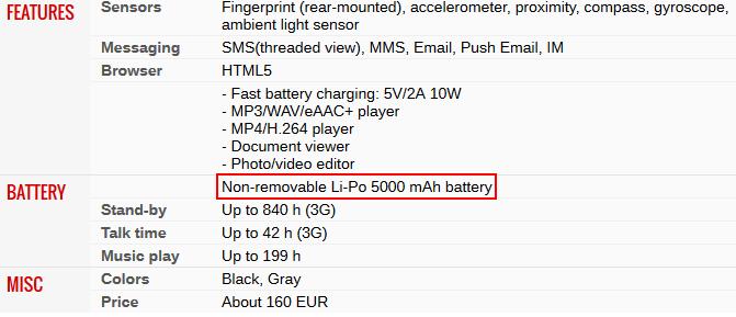 Kapasitas Baterai Asus Zenfone Max Pro M1 Gsmarena