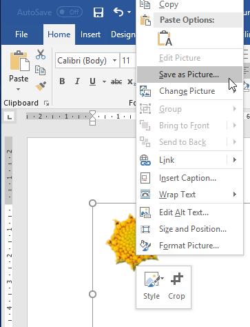 Simpan Sebagai Gambar Di Microsoft Word