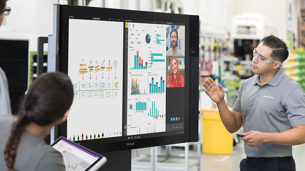 Surface Hub Dengan Windows 10 Team