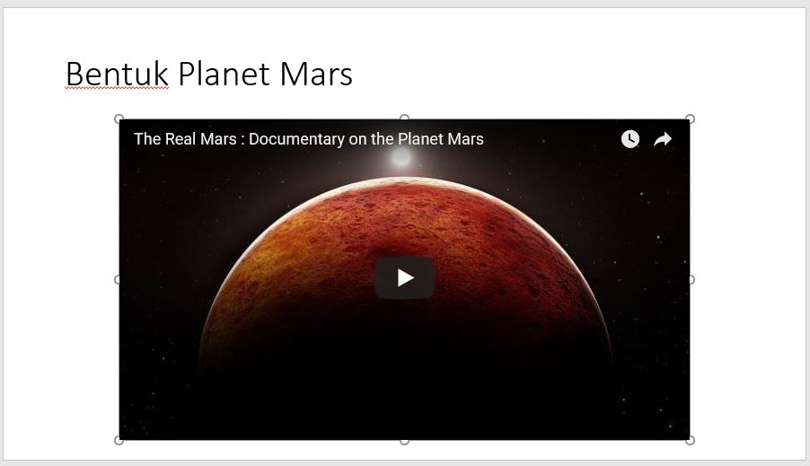 Menambah Video Slide Powerpoint