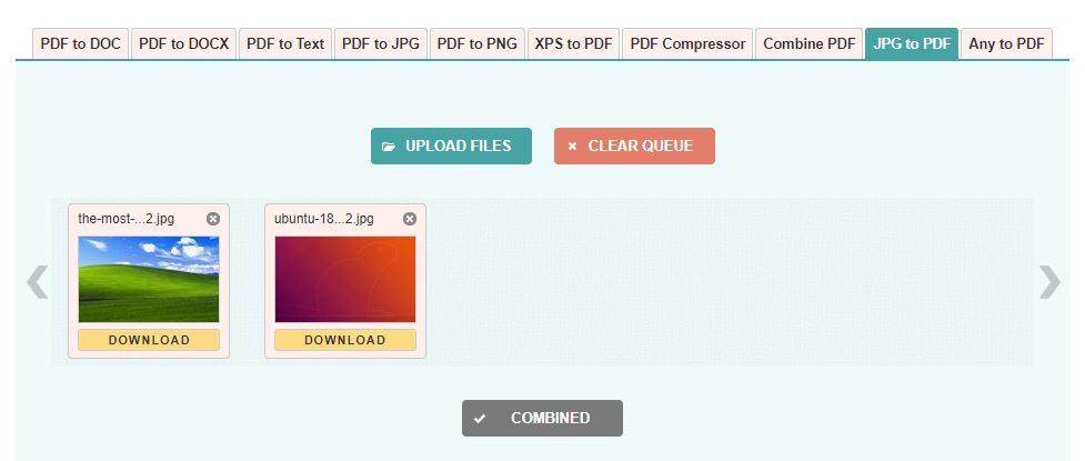 Jpg2pdf Upload File