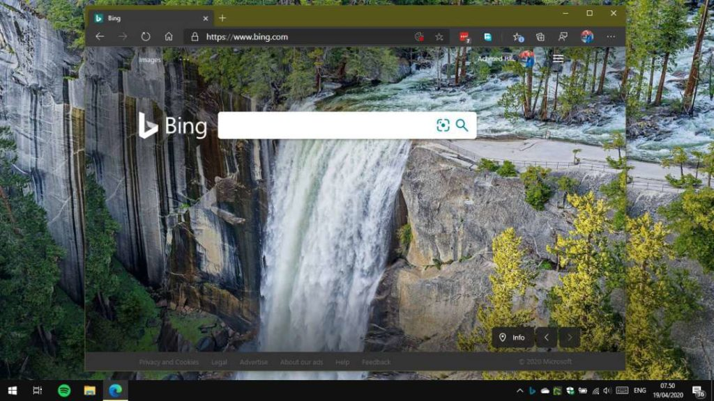 Desktop Bing Wallpaper Windows