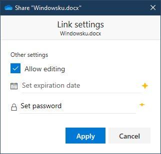 Mengubah Hak Akses Onedrive Windows