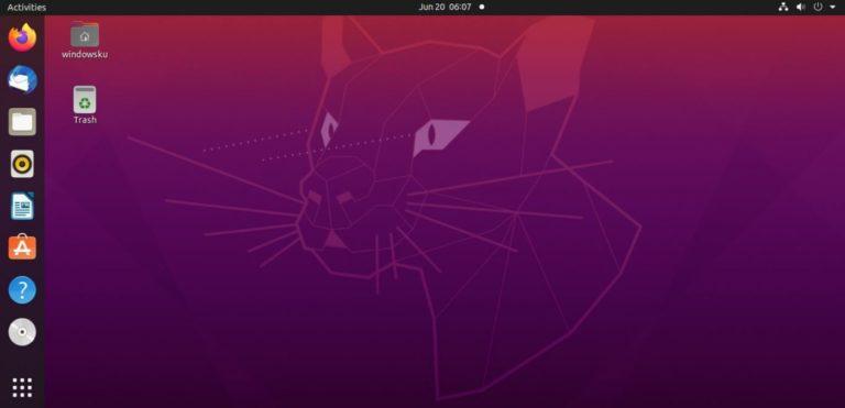 Cara Menginstall Ubuntu 20 04 Header