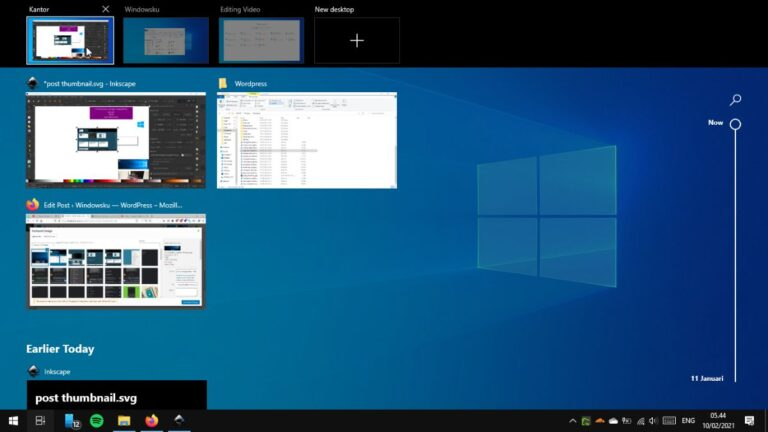 Cara Menggunakan Virtual Desktop Task View Windows Header